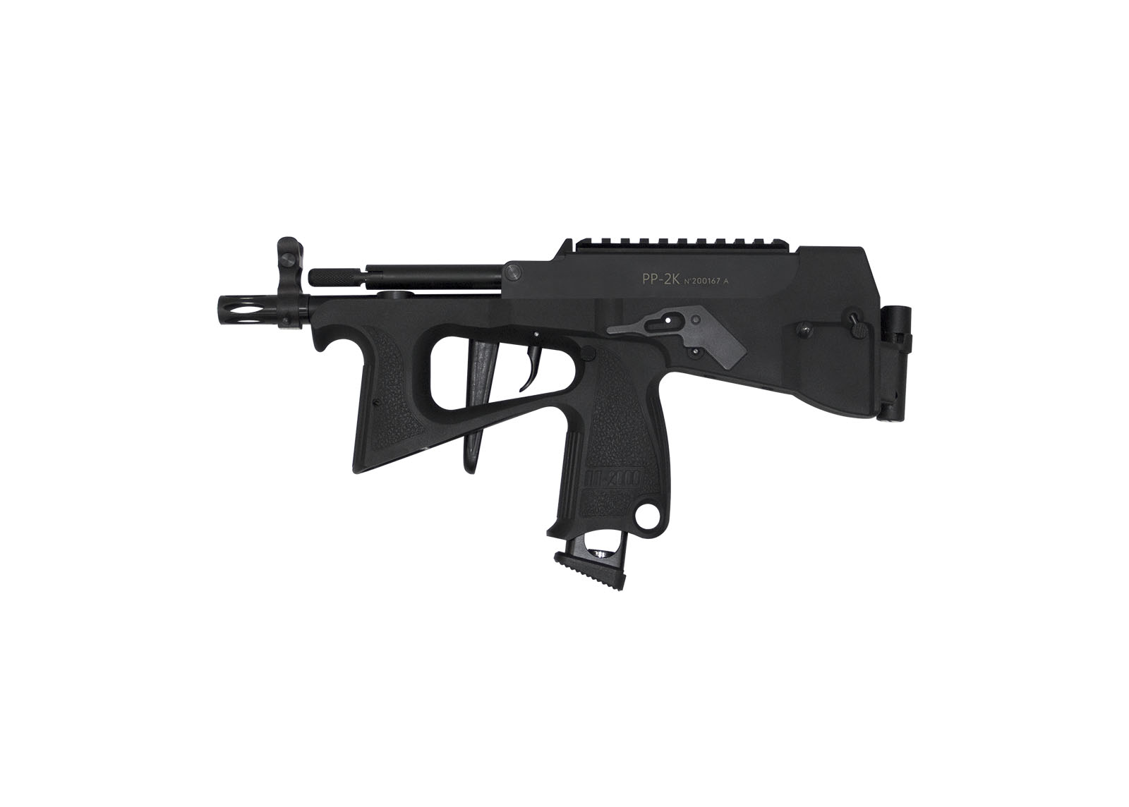 PP-2K 9mm Gas Blow Back Submachine Gun(with CO2 magazine) _ Pre-order