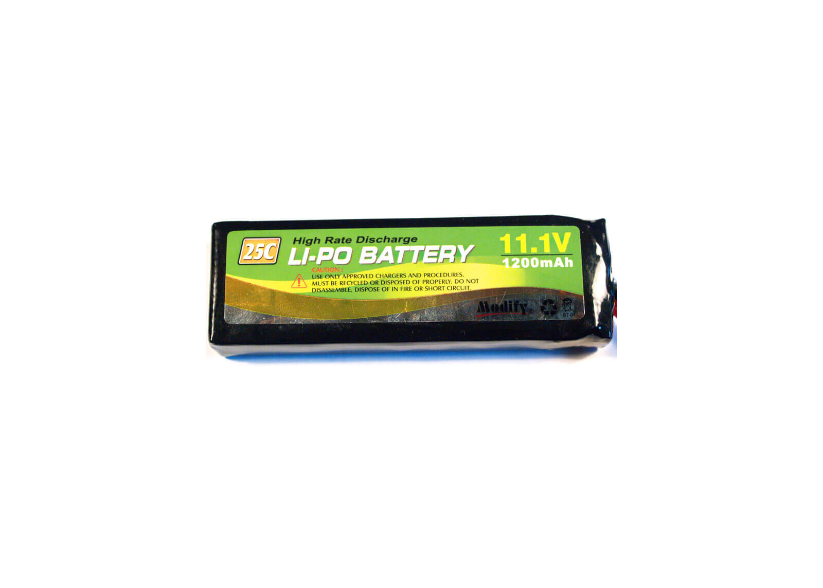 LiPo Airsoft Gun Battery Package 25C 11.1V 1200mAh-Modify Airsoft Accessories