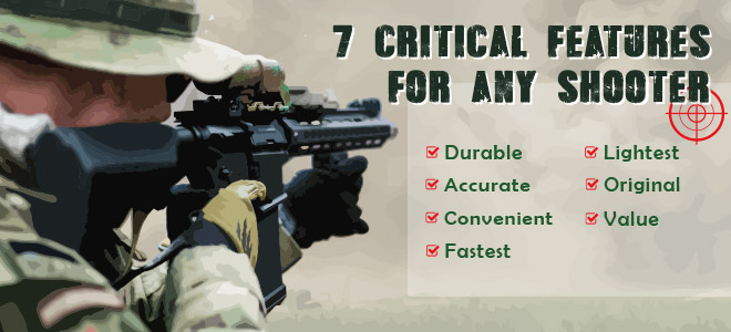 XTC-G1 has 7 critical features for any shooter.