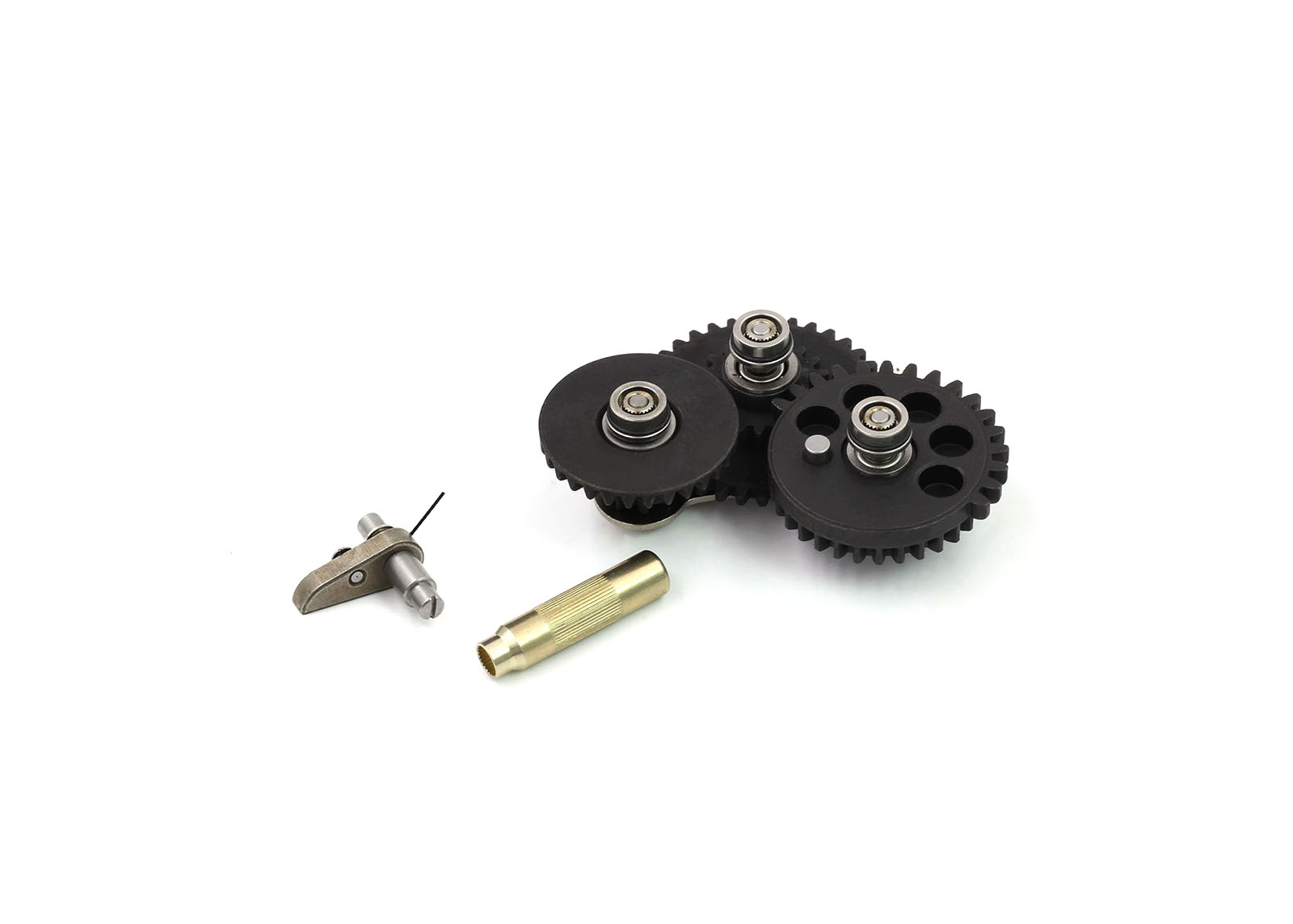 Modular Gear Set - SMOOTH 7mm Ver.2/Ver.3 (Speed 16.32:1+Gear Key) - Modify Airsoft parts