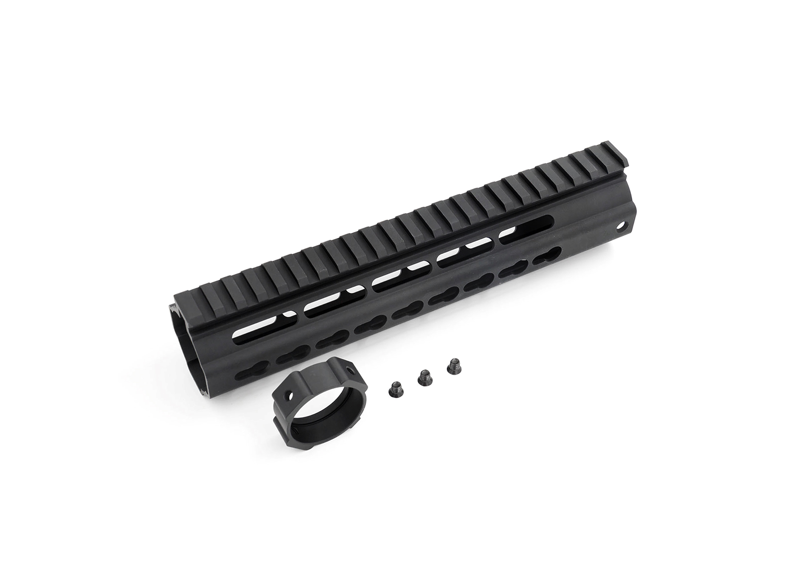 "Key Mod Rail 9.3""with Rear Base and Screws (Black) - Modify XTC Spare Parts"